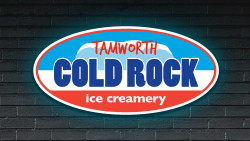Cold Rock ice creamery