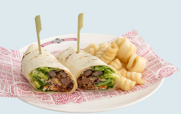 Mexican Beef Wrap 3698kj